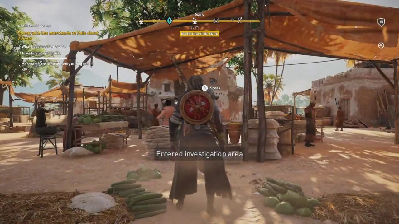 Assassin S Creed Origins Conflicts Of Interest Side Quest