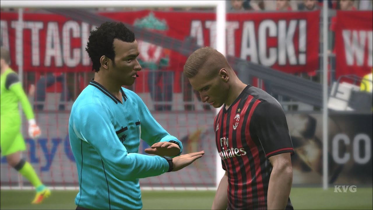 pes 2017 liverpool fc vs ac milan gameplay pc hd. Black Bedroom Furniture Sets. Home Design Ideas