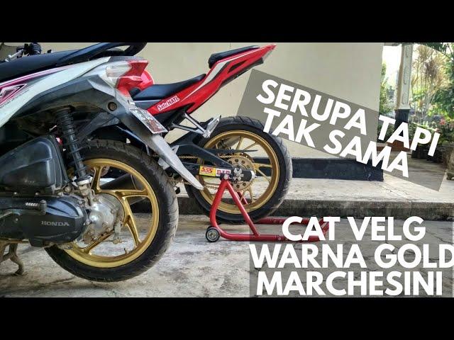 Cat velg warna GOLD MARCHESINI di beat fi SENDIRI!!!
