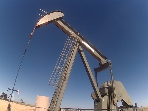 Fracking at Permian Basin Midland Odessa Oil