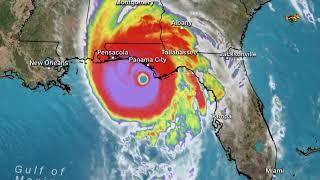 Orkanen Michael skördar liv –