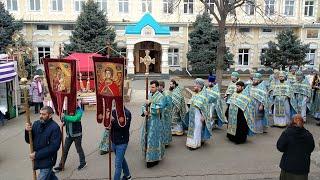 Свято-Иверский Одесский монастырь. Престольный праздник. 25.02.2020