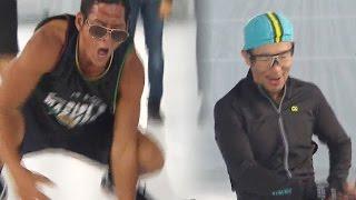《FUNNY》 Running Man 런닝맨|GOD VS DJ.DOC 노익장 과시하는 '댄스배틀'로 객석 초토화! EP404 20151108