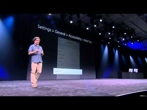 WWDC Introducing San Francisco, the New System Fonts