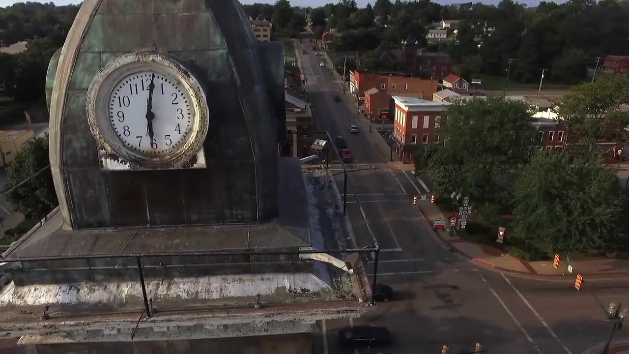 Ohio columbiana county rogers - Columbiana County Courthouse Clocktower Lisbon Ohio