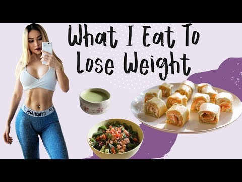 What I Eat To Lose Weight | Healthy Recipes | What I Ate In A Week