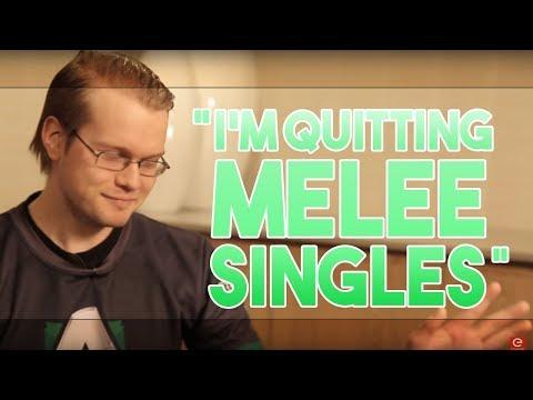 I'm quitting Melee singles.