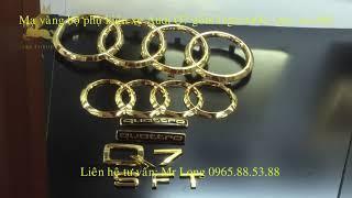 Mạ vàng logo ô tô- mạ vàng chuyên nghiệp