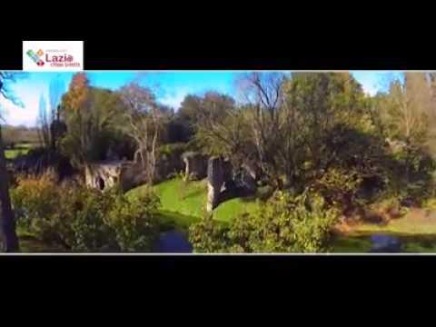 Il Giardino Di Ninfa Dall 39 Alto Youtube