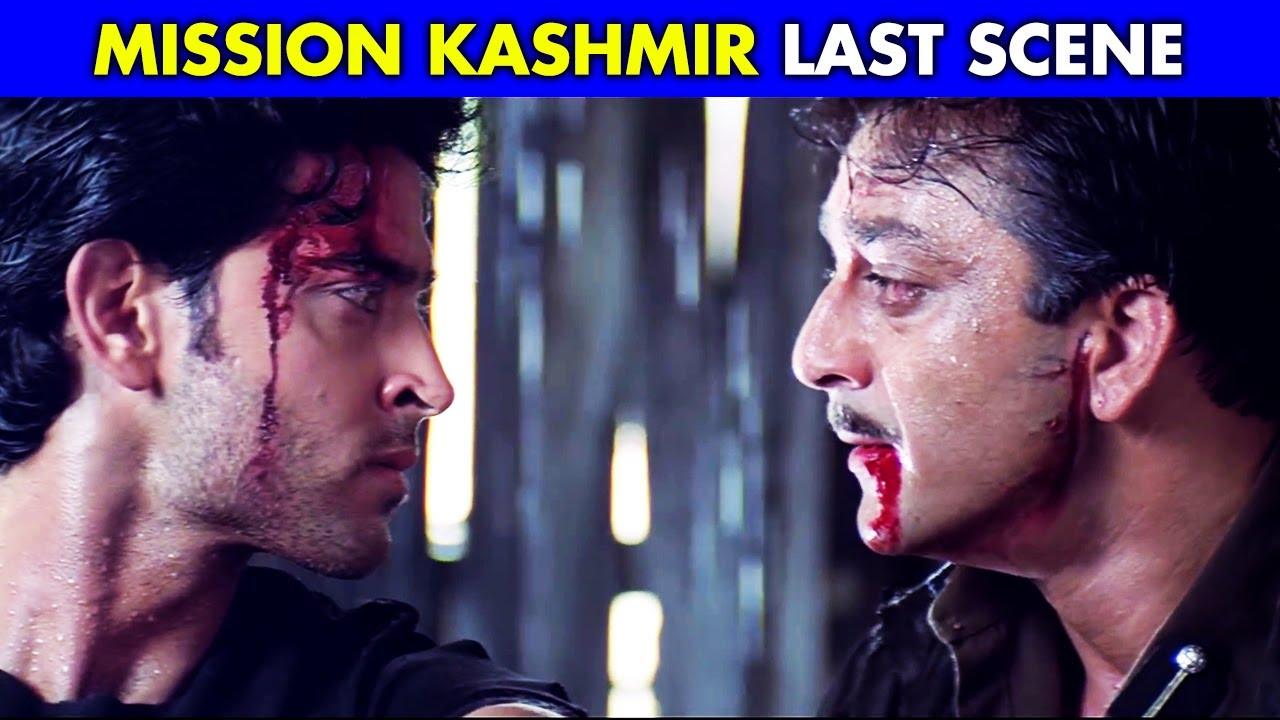 Hrithik Roshan And Sanjay Dutt Best Scene | Mission Kashmir Last Scene | Best Hindi Action Scene