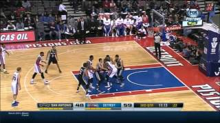 Greg Monroe Post-Up Compilation