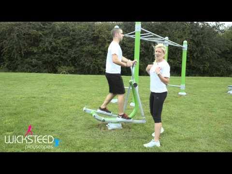 Skier - Outdoor Gym Equipment