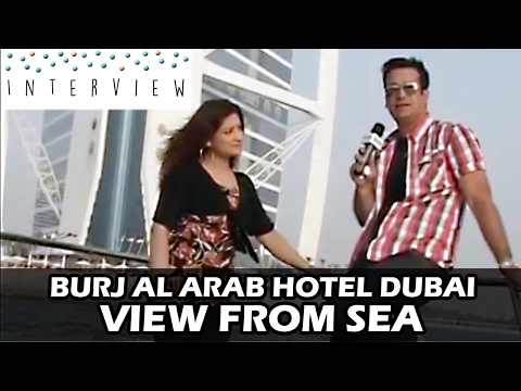 Burj al Arab hotel Dubai | Interview on Xplore with Sofia | Luxury Dubai Marina Yacht & Cruise Tour