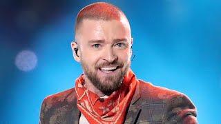 Justin Timberlake Sings His Biggest Hits During Pepsi Super Bowl Halftime Performance