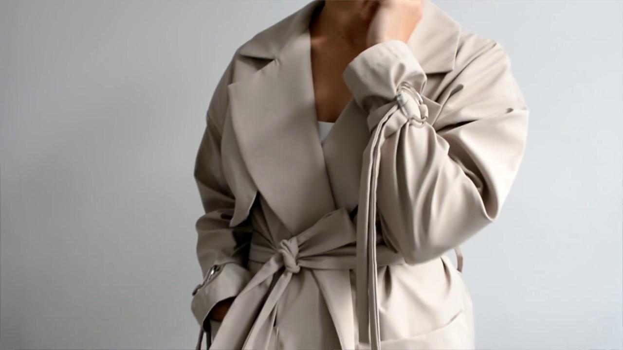 женский длинный халат с кружевом - YouTube