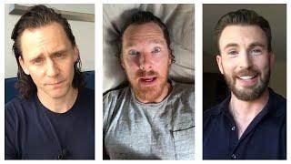 Marvel Cast During Quarantine, Part 25 | Chris Evans, Tom Hiddleston, Benedict Cumberbatch