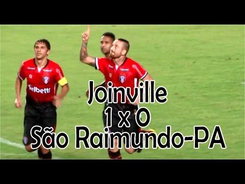 GOL: JOINVILLE 1 X 0 SÃO RAIMUNDO-PA - COPA DO BRASIL 2017
