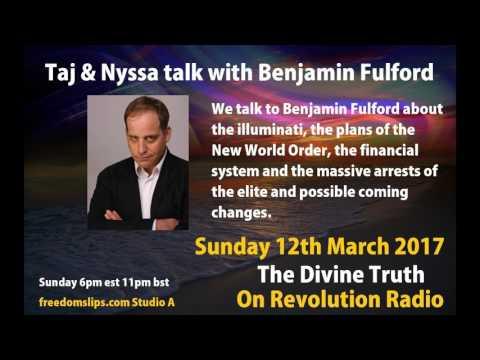 Taj & Nyssa talk with Benjamin Fulford on The Divine Truth on Revolution Radio