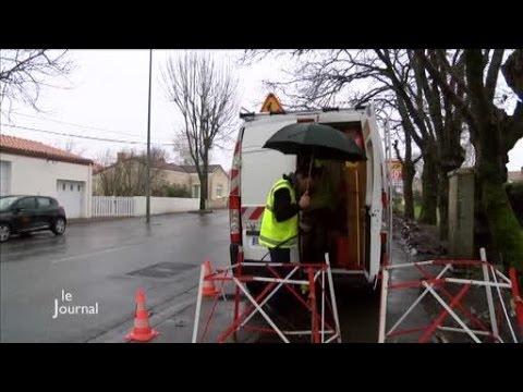 Internet : Les travaux pour la fibre optique (Vendée)