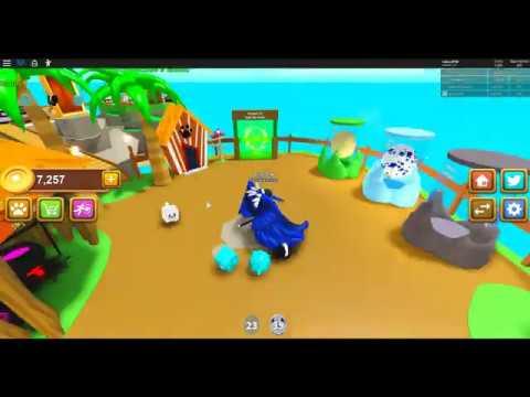 Roblox Pet Island Making a Diamond Cat!