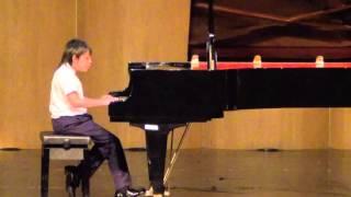 20160319 蘇翊 巴洛克音樂大賽 鋼琴 四年級組 第1