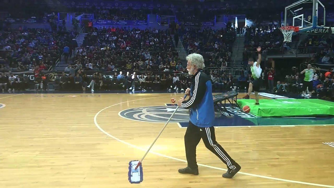 All Star Basket Maçı'nda Şaşırtan Amca