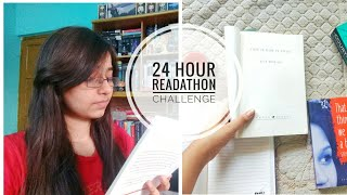 I Read For 24 Hours Again The 24 Hour Readathon Challenge March Vlog