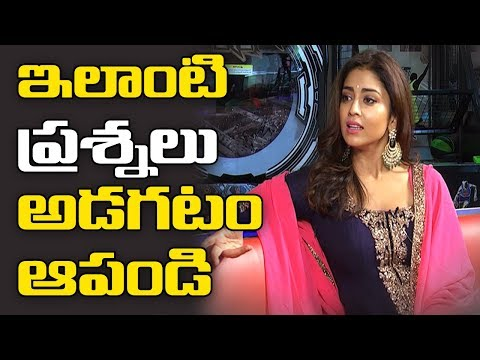 Irritated Shriya says stop asking ' SUCH ' questions ! - TV9