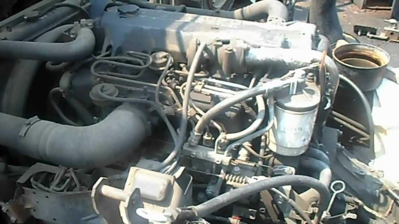 1999 ISUZU NPR 4HE1XS 475L ENGINE  YouTube