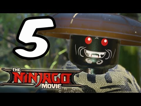 LEGO Ninjago Movie Videogame: Part 5 Uncrossable Jungle! coop Walkthrough (PS4 Pro)