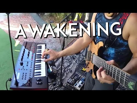 Awakening – live electronic music production, stell house by Dovydas