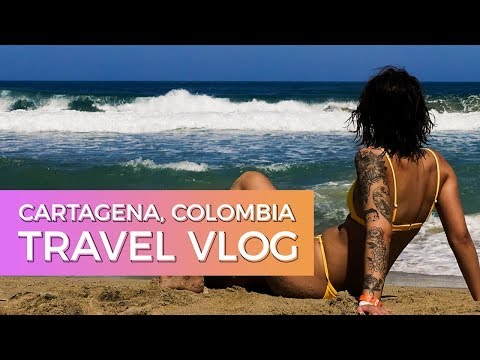 Cartagena Colombia Travel Vlog 2019