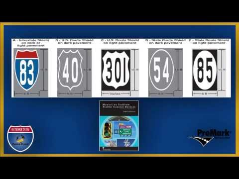 PreMark® Interstate and Route Shields