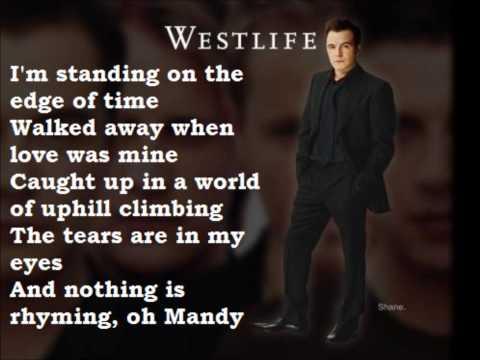 WESTLIFE - OH MANDY LYRICS - SongLyrics.com