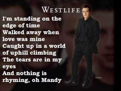 Westlife - Mandy - With Lyrics
