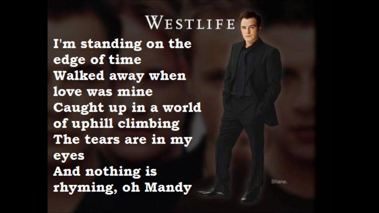 Westlife mandy song lyrics