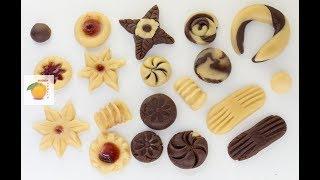 11 вариантов формовки печенья. Простые и доступные идеи