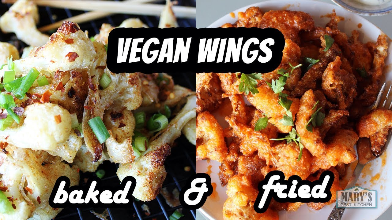 EASY VEGAN CAULIFLOWER WINGS | Recipe by Mary's Test Kitchen