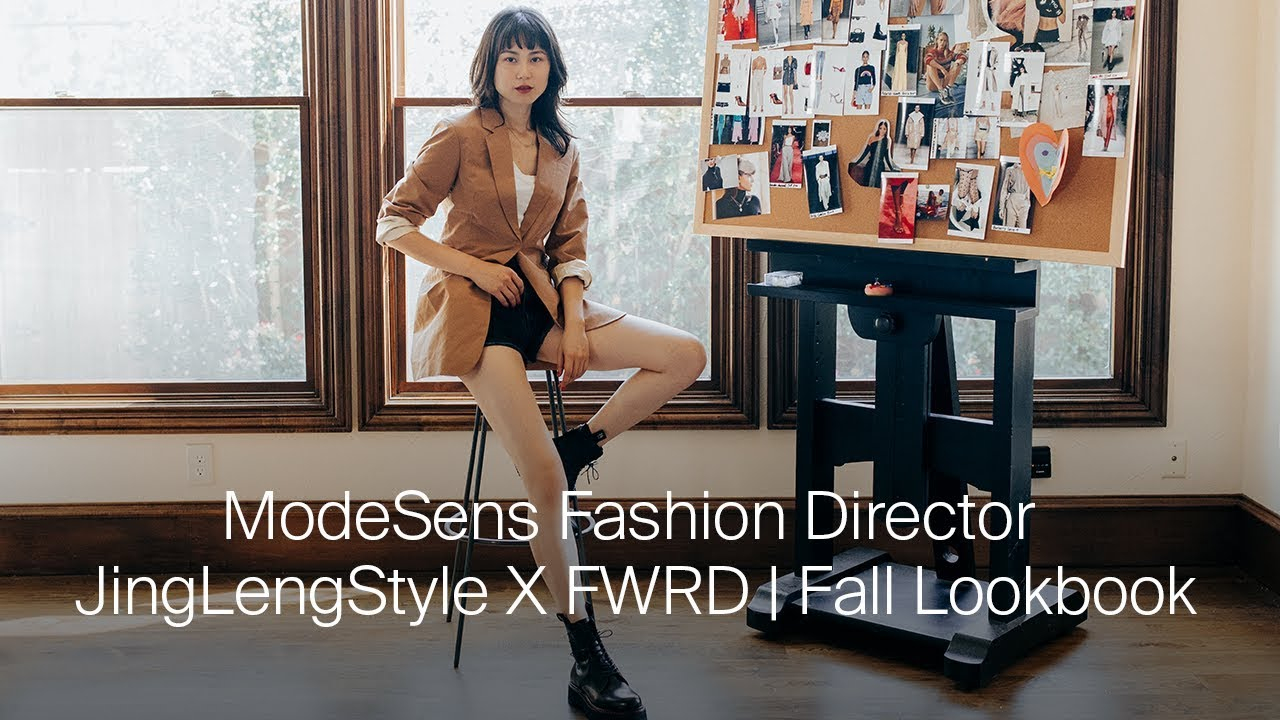 [VIDEO] - ModeSens Fashion Director JingLengStyle X FWRD | Fall Lookbook 8