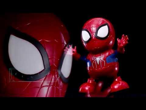 Download Wonderplay Dancing Robot The Avengers Super Hero Spiderman Dancing Robot With Light & Music