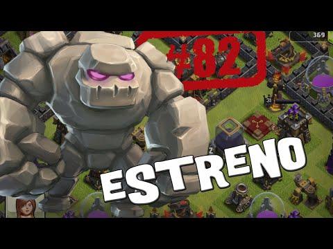 Estrenando el golem- Descubriendo Clash of Clans #82 [Español]
