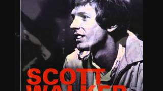 SCOTT WALKER☆WHERE DOES BROWN BEGIN