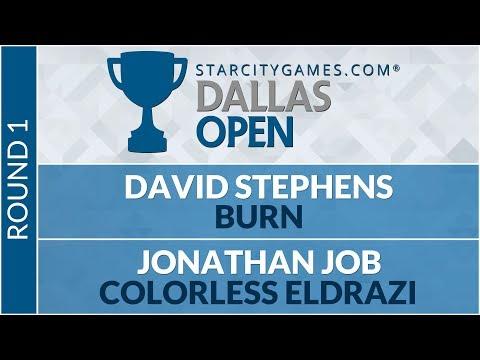 SCGDFW - Round 1 - David Stephens vs Jonathan Job [Modern]