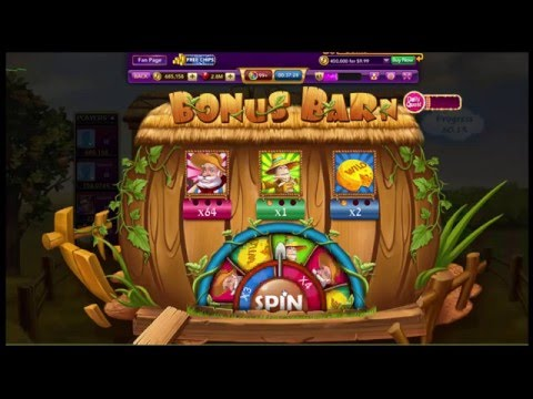 New Farm Slot Machine On Facebook - Bonus Game - Luckyo Casino