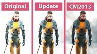Half-Life 2: Update vs. Cinematic Mod 2013 vs. Original Comparison [WQHD 1440p]