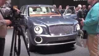 Bentley concept EXP 9F : le SUV selon Bentley