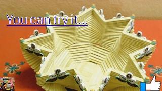 DIY Basket made from Glue and Popsicle Sticks | #Popsiclestickcraft| Pop Stick Crafts