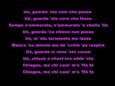 Squallor  -  Chi Cazz M'o Fa Fà (Testo)