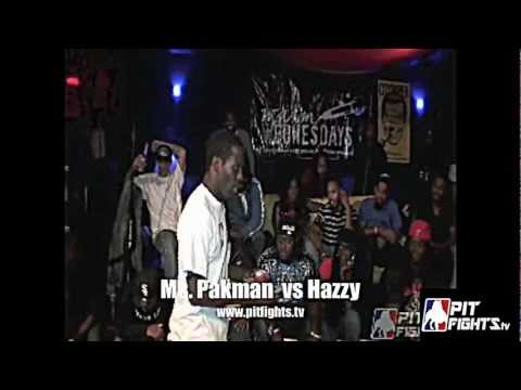 Ms Pakman vs Hazzy : Pit Fights Battle League