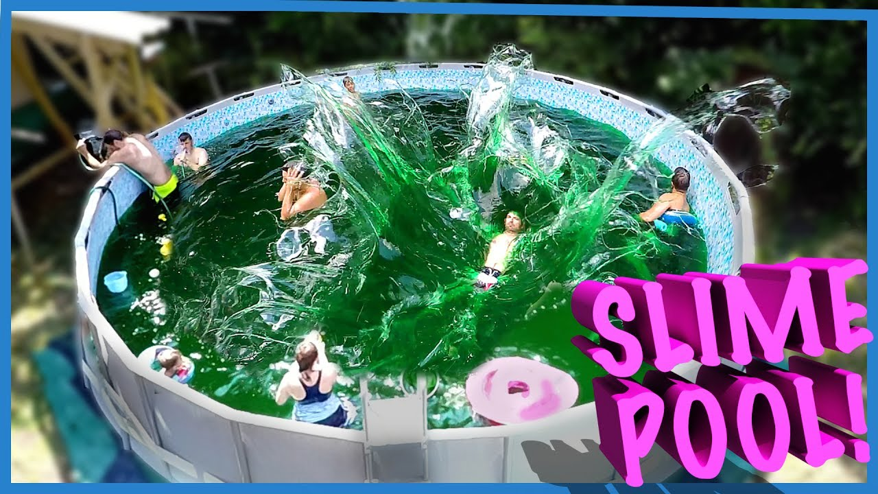 Swimming In A Family Size Pool Of Slime Doovi